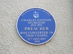 Artillery Street Chapel (blue badge)