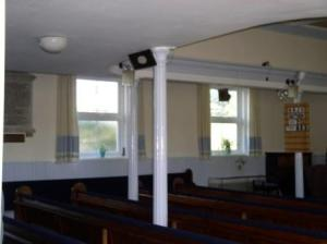 Artillery Street Chapel (interior - plaque)