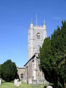 Dedham church exterior