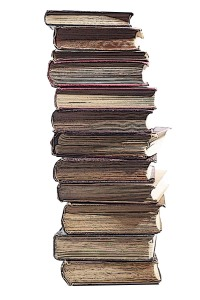 pile of books 7