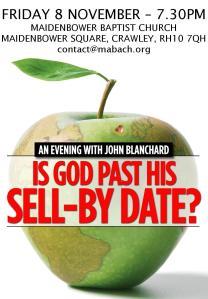 John Blanchard at Maidenbower